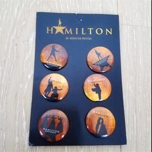 Hamilton | Buttons Pins New